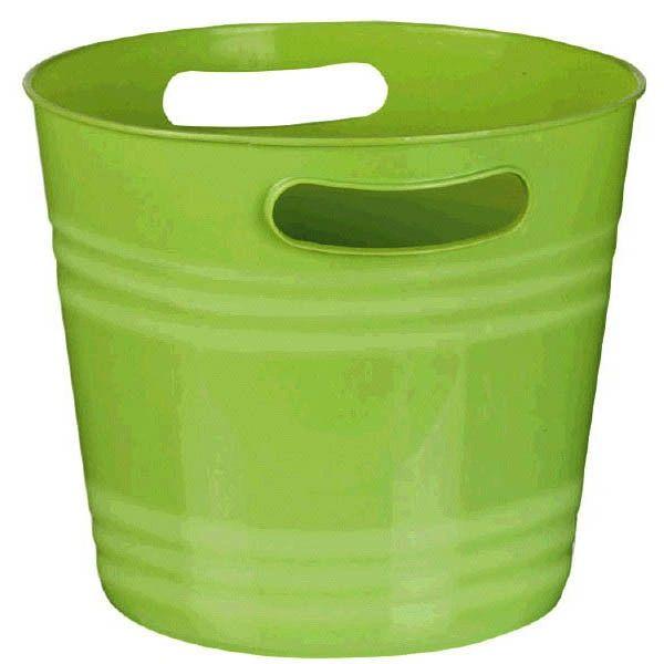 Kiwi Green Plastic Ice Bucket