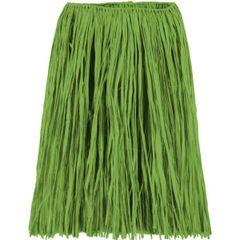 Adult Green Grass Skirt - Large & XLarge