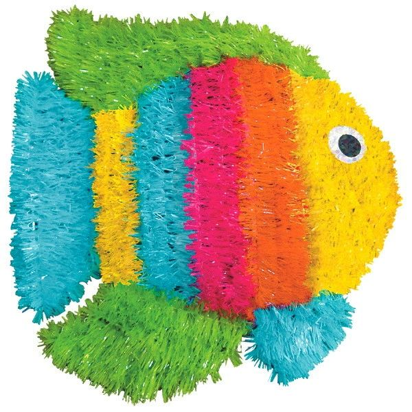 Tinsel Fish Decoration