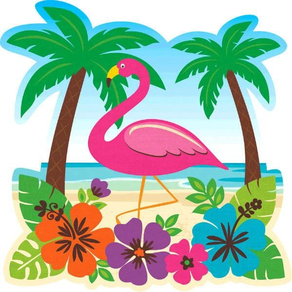 Tropical Beach Cutout
