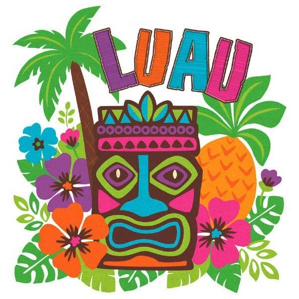 """Tiki Luau Cutout, 15"""" x 14 1/4"""""""