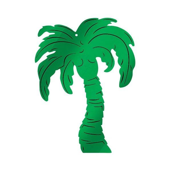 Palm Tree Foil Cutout