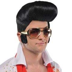 50s - 70s Rock n Roll Glasses with Sideburns