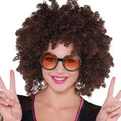 70's Rhinestone Glasses