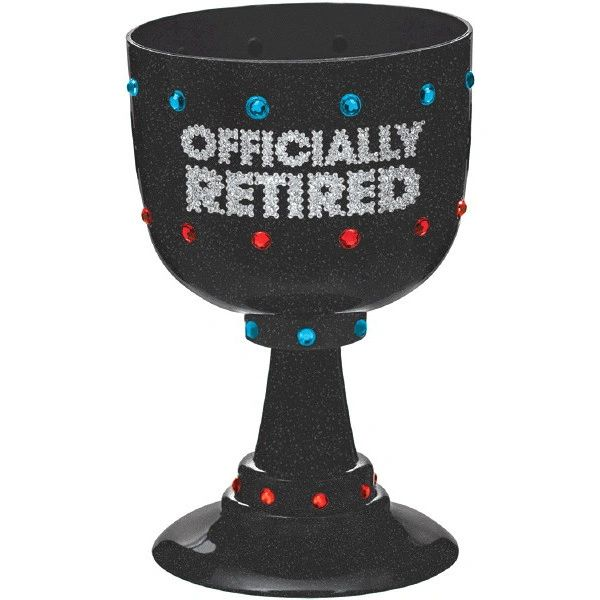 Happy Retirement Celebration Goblet