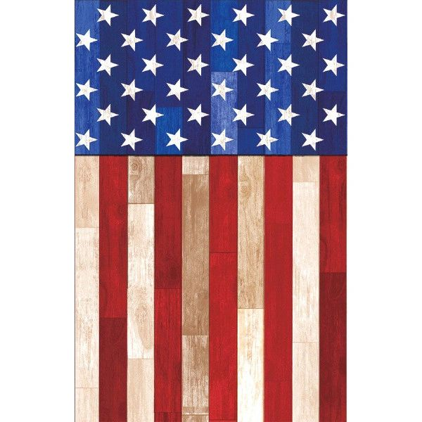 Rustic Americana Table Cover