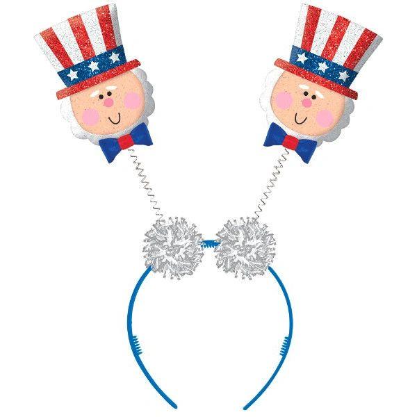 Patriotic Top Hat Head Bopper