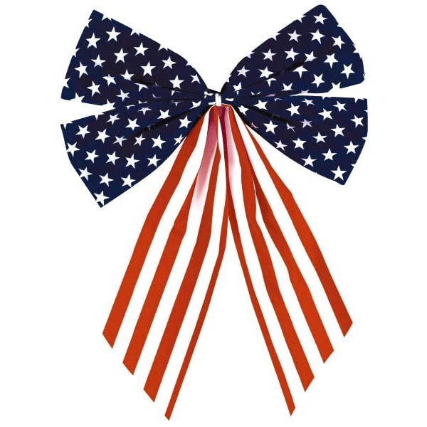 American Flag 4-Loop Bow