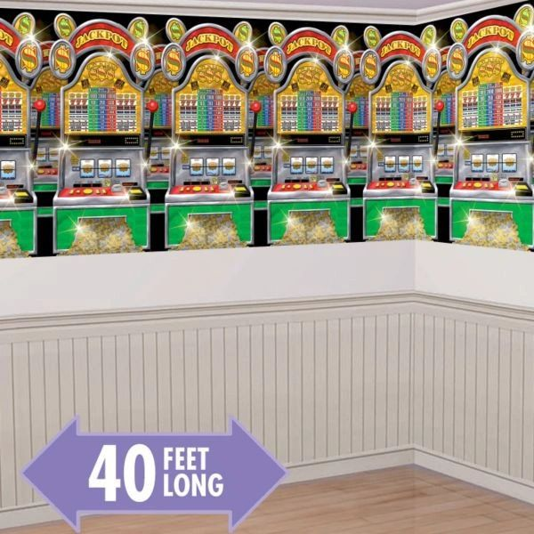Casino Slot Machines Room Roll, 40ft