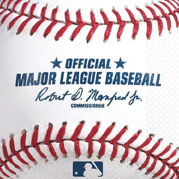 Rawlings™ Baseball Beverage Napkins, 16ct