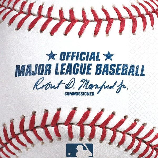 Rawlings™ Baseball Lunch Napkins, 16ct