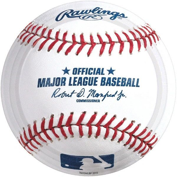 "Rawlings™ Baseball Lunch Plates, 9"" - 8ct"