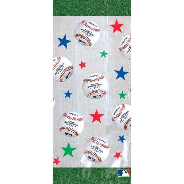 Rawlings™ Baseball Cello Party Bags, 20ct