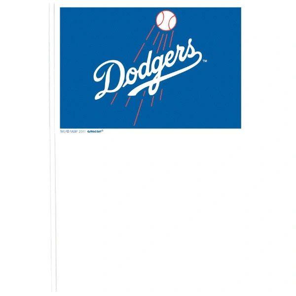 Los Angeles Dodgers Plastic Flags