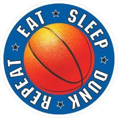 Basketball Decal Favor