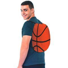 Basketball Drawstring Backpack