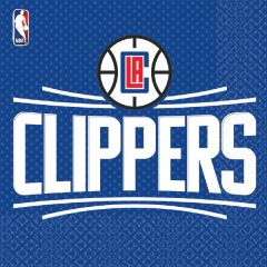 LA Clippers Lunch Napkins, 16ct