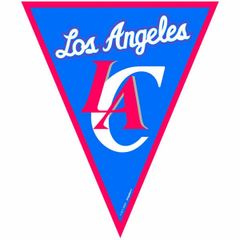 LA Clippers NBA Pennant Banner