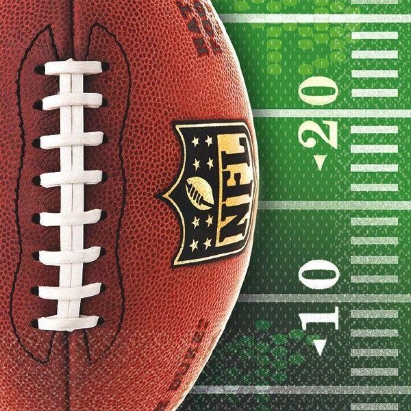 NFL Drive Beverage Napkins, 16ct