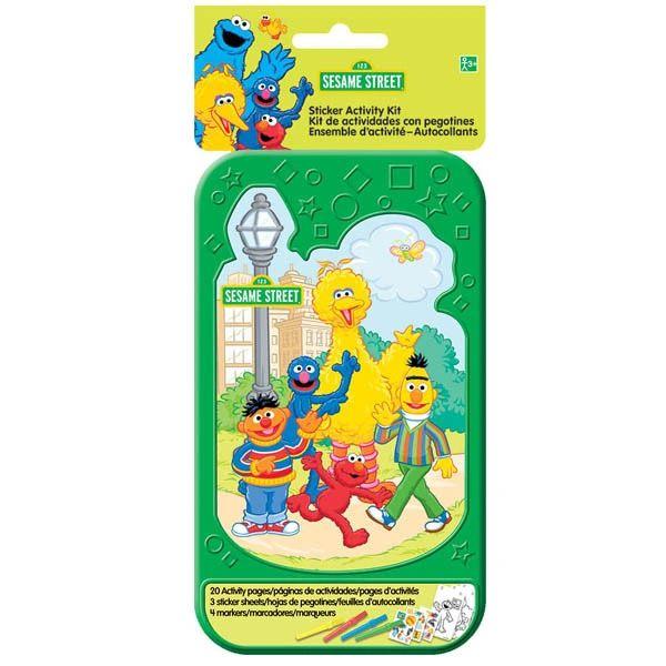 Sesame Street® Sticker Activity Kit