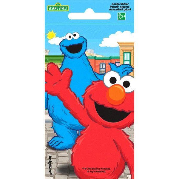 Sesame Street® Jumbo Sticker