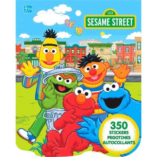 Sesame Street® Sticker Book