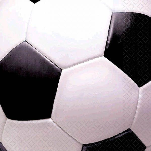 Soccer Fan Beverage Napkins, 16ct
