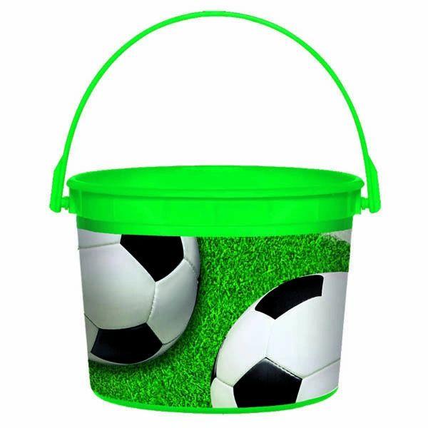 Soccer Plastic Bucket