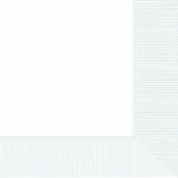 White 3-Ply Dinner Napkins, 20ct