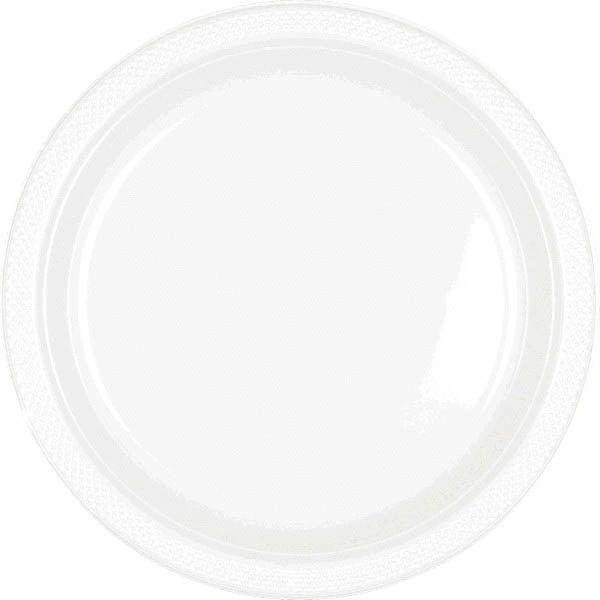 """White Dinner Plates, 10 1/4"""" - 20ct"""