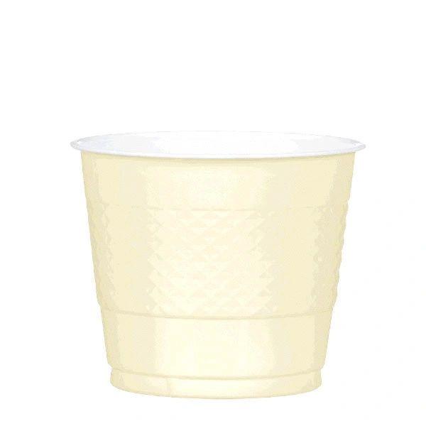 Vanilla Crème Plastic Cups, 9 oz - 20ct