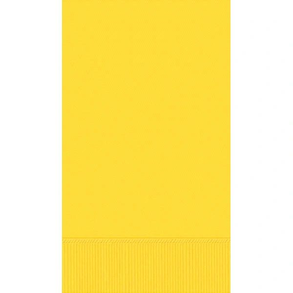Yellow Sunshine 3-Ply Guest Towels, 16ct