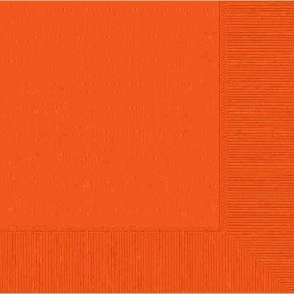 Orange Peel Luncheon Napkins, 50ct