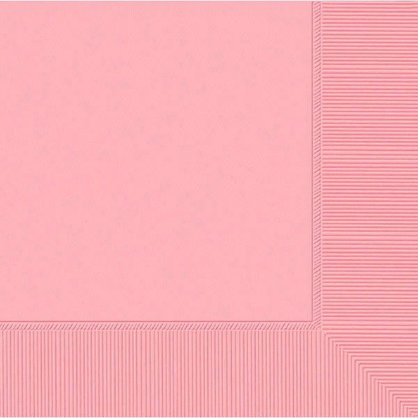 New Pink 3-Ply Dinner Napkins, 20ct