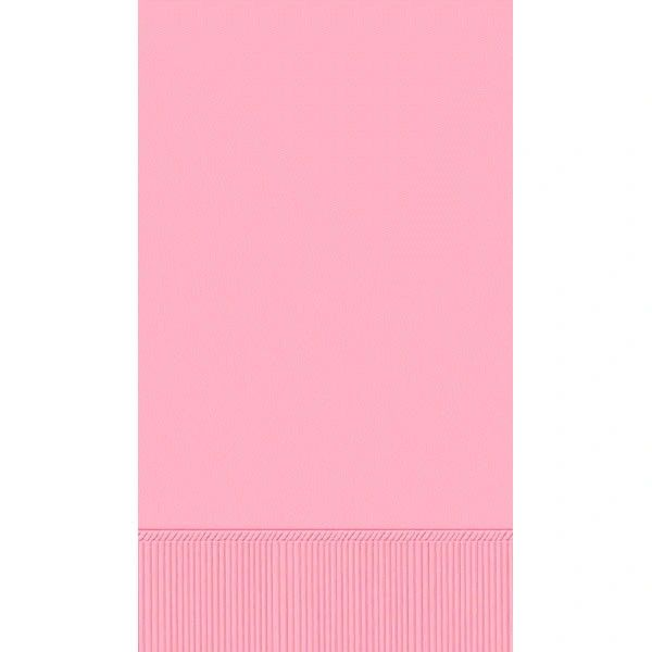 New Pink 3-Ply Guest Towels, 16ct