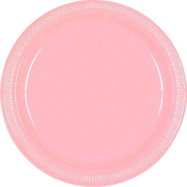 "New Pink Dessert Plates, 7"" - 20ct"