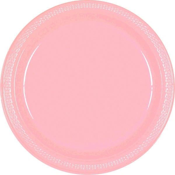 "New Pink Dinner Plates, 10 1/4"" - 20ct"
