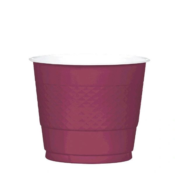 Berry Plastic Cups, 9 oz - 20ct