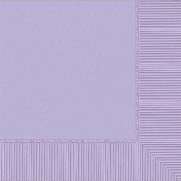 Lavender 3-Ply Dinner Napkins, 20ct