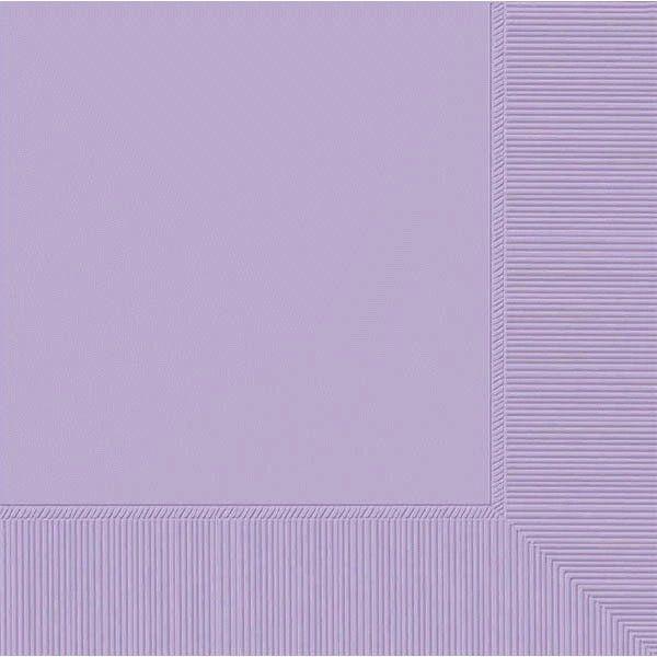 Lavender 2-Ply Beverage Napkins, 50ct