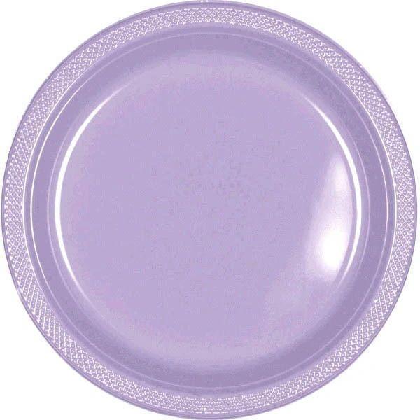 "Lavender Dessert Plates, 7"" - 20ct"