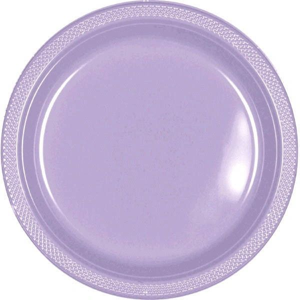 "Lavender Dinner Plates, 10 1/4"" - 20ct"