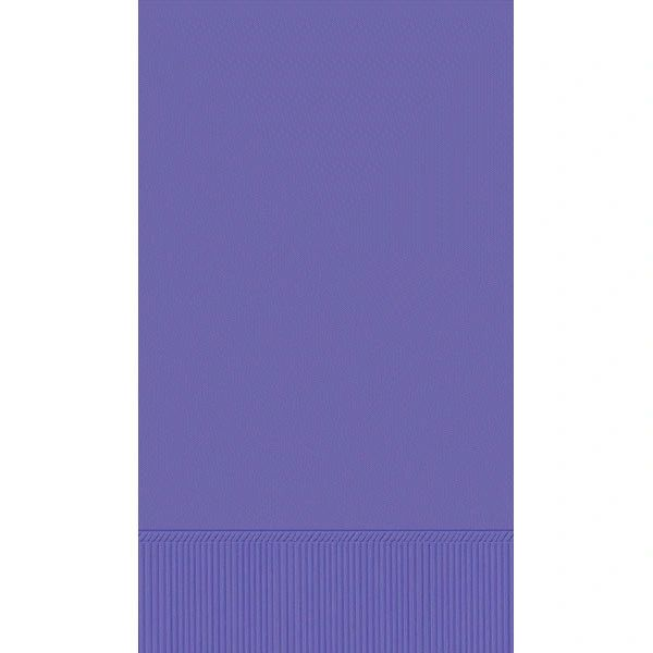 New Purple 3-Ply Guest Towels, 16ct