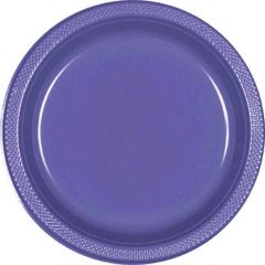 "New Purple Dessert Plates, 7"" - 20ct"