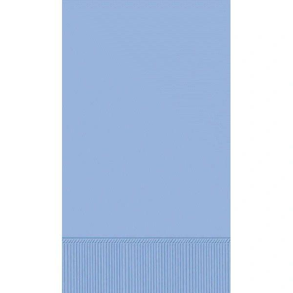 Pastel Blue 3-Ply Guest Towels, 16ct