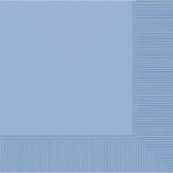 Pastel Blue 2-Ply Beverage Napkins, 50ct