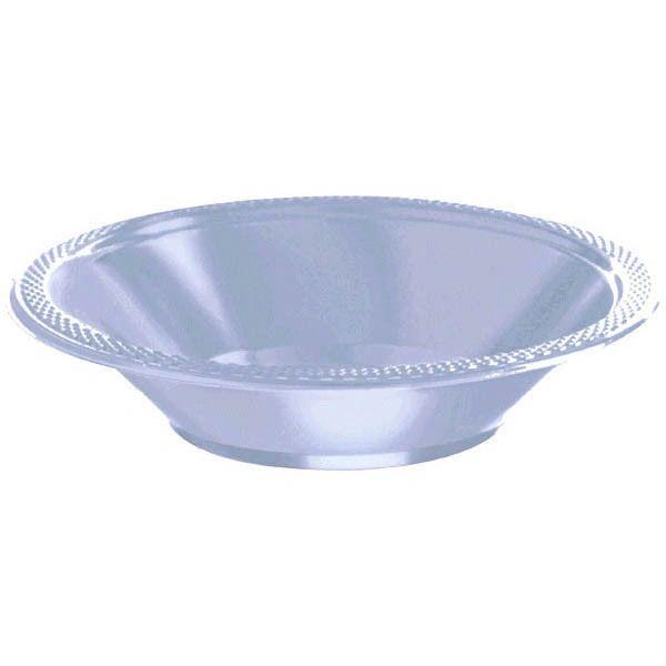 Pastel Blue Plastic Bowls, 12oz - 20ct