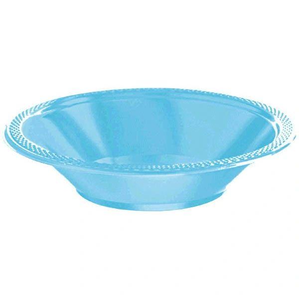 Caribbean Plastic Bowls, 12oz - 20ct