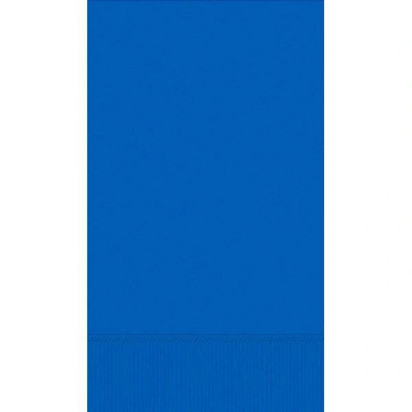 Bright Royal Blue 3-Ply Guest Towels, 16ct