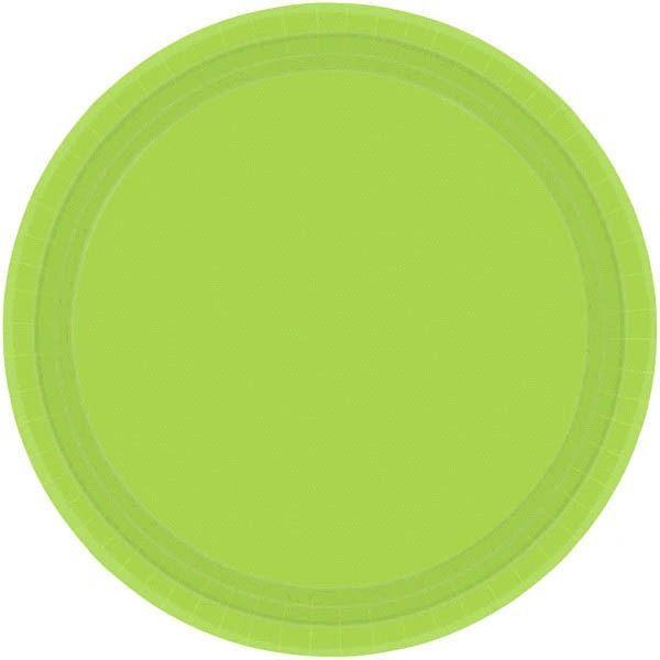 "Kiwi Lunch Plates, 9"" - 20ct"